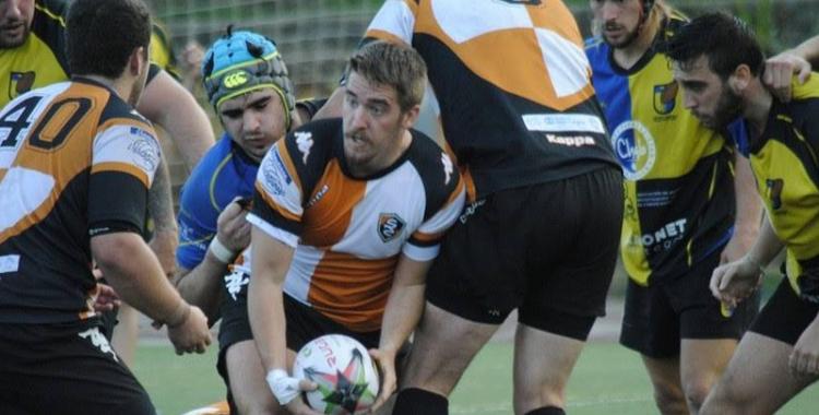 Imatge del partit contra el Castelldefels