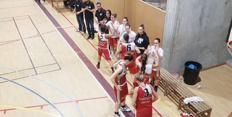 El Sant Nicolau femení vol sumar la segona victòria de la temporada