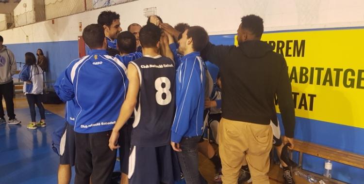 El CNS Bàsquet vol netejar la seva imatge contra l'Esparreguera