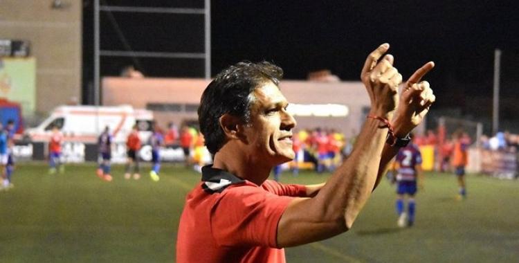 Toni Seligrat assegura que el seu equip competirà bé contra el Villarreal B | Crispulo D.