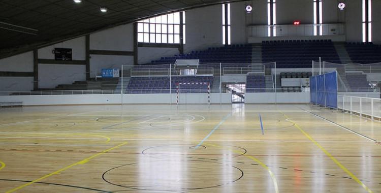 Pavelló Municipal d'Esports a Sol i Padrís.|Foto: Juanma Peláez