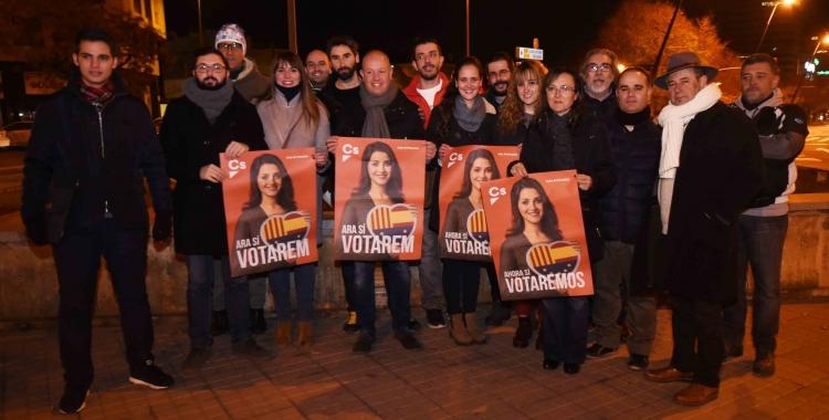 Ciutadans Sabadell a la plaça de la Concòrdia   Roger Benet