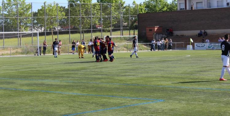 El Mercantil és el millor equip sabadellenc a la prefent juvenil | Adrián Arroyo