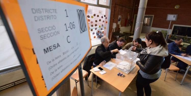 Els candidats de les forces més votades es mostren satisfets dels resultats obtignuts. Foto: Roger Benet