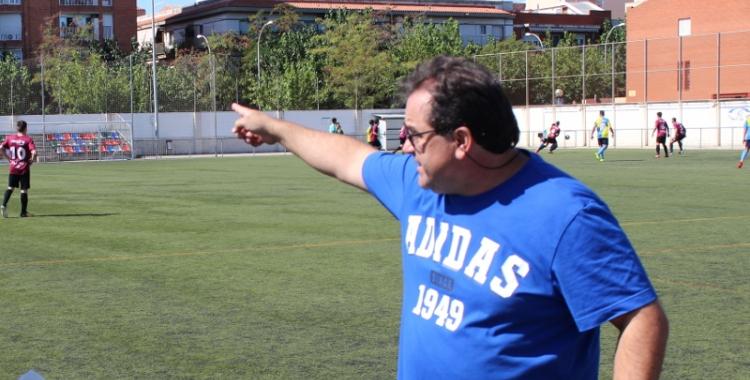 Quico Díaz serà el tècnic local en el derbi de diumenge