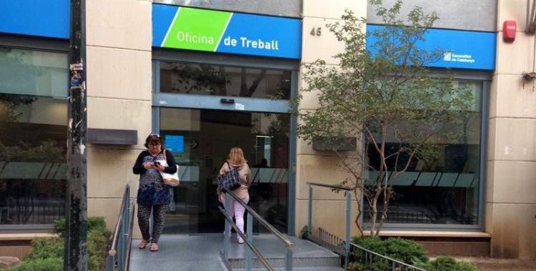 Exterior de l'oficina d'ocupació a Sabadell/ Arxiu Ràdio Sabadell