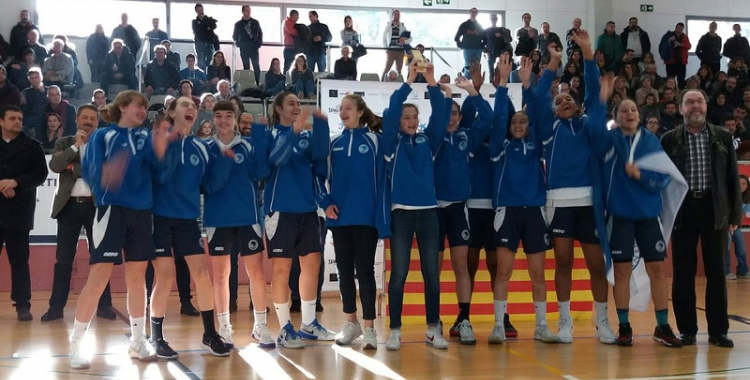 El CNS Bàsquet femení infantil ha quedat segon a l'edició d'aquest any