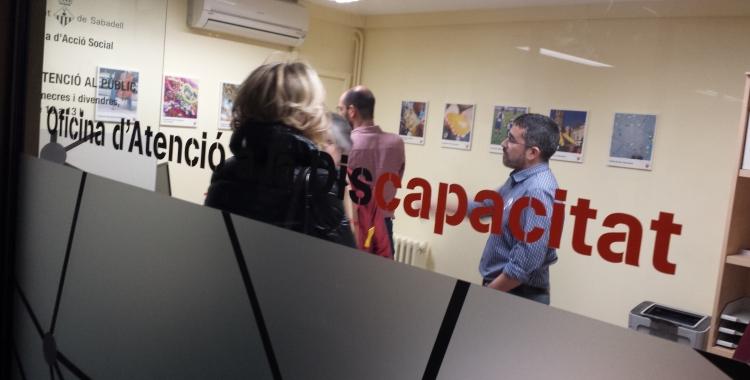 L'Oficina d'Atenció a la Discapacitat, al Casal Pere Quart | Pau Duran