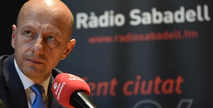 Calzada avui a Ràdio Sabadell | Roger Benet