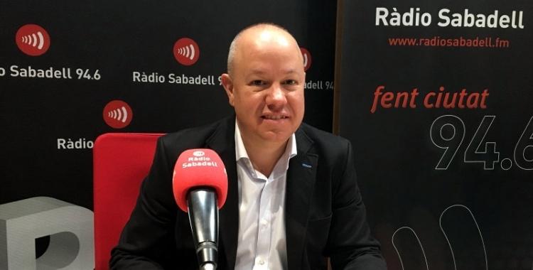 Joan Garcia ha estat escollit secretari tercer de la mesa del Parlament/ Arxiu Ràdio Sabadell