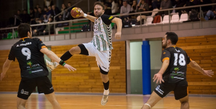 El Gràcia ha estrenat la segona volta guanyant a Sant Vicenç | Èric Altimis