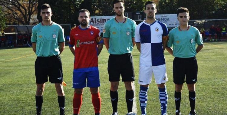 Sergi Estrada, capità i golejador del Sabadell B | Sergi Estrada