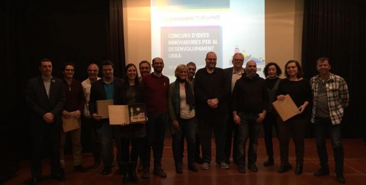 Imatge dels jurat i els participants | Foto Ràdio Sabadell