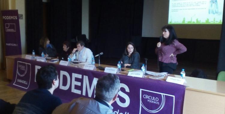 Quarta assemblea de Podem Sabadell | Pere Gallifa