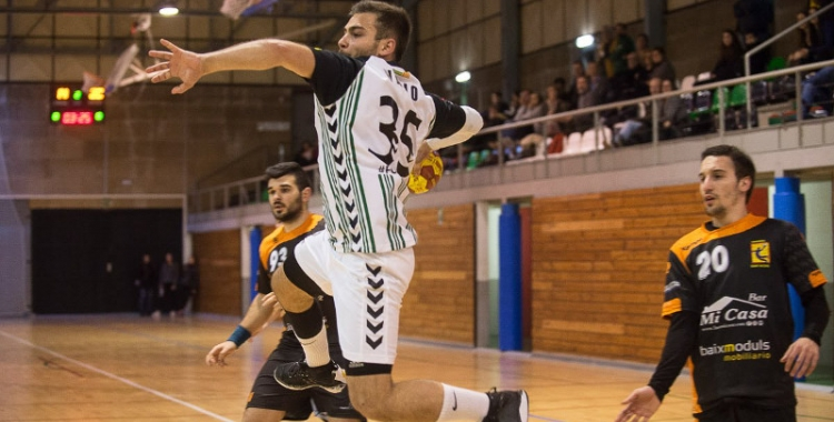 Quim Vaíllo va fer cinc gols davant el Sant Esteve Palautordera