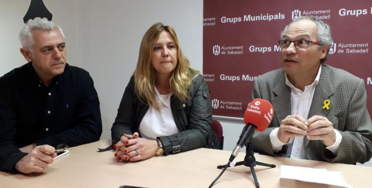 CIU ha fet declaracions el dia que s'ha presentat el projecte de reurbanització del Passeig/ Karen Madrid