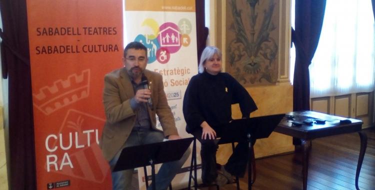 Roda de premsa al Teatre Principal   Pere Gallifa