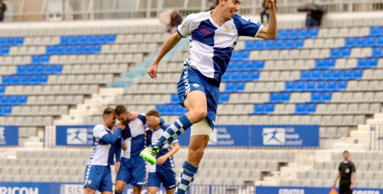 Pedro Capó celebrant el seu gol   Sandra Dihör