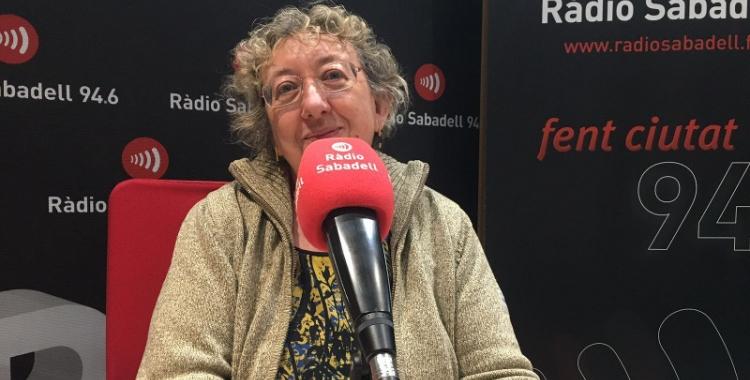 La responsable del Postgrau en Economia Social i Solidària, Glòria Estapé, ha passat pels estudis de Ràdio Sabadell.