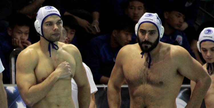 Ivan Gallego (dreta) no jugarà contra el Jadran per lesió