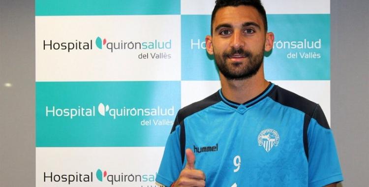 Arturo va passar ahir reconeixement mèdic amb el Sabadell | CE Sabadell