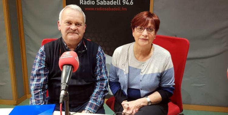 La doctora Bosque, amb Manel Sabés de la Fundació Bosch i Cardellach/ Raquel Garcia