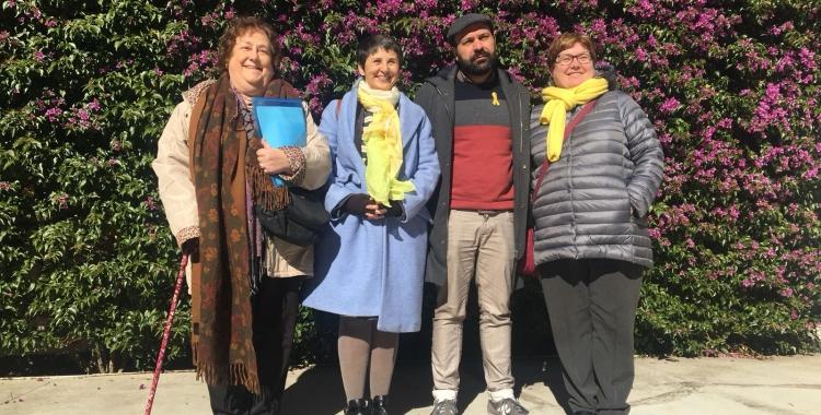 Anna Maria Aguiló, Teresa Mira, Marcel Mauri i Montserrat Mateu   Cedida