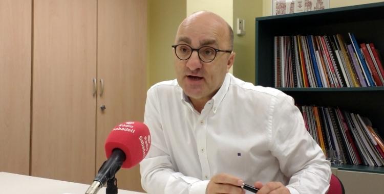 Josep Escartín, en una imatge d'arxiu   Ràdio Sabadell
