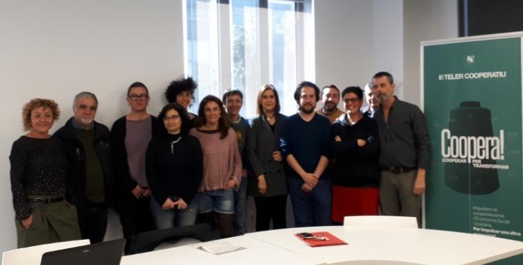 L'equip de l'Ateneu Cooperatiu ha crescut per aquesta segona edició/ Karen Madrid
