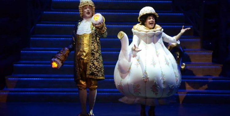 'La Bella i la Bèstia' va captivar el públic la temporada passada/ Joventut de la Faràndula