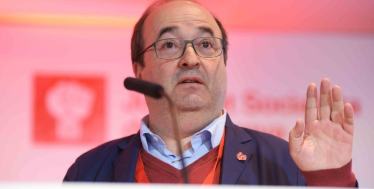 Miquel Iceta al congrés de la JSC | Roger Benet