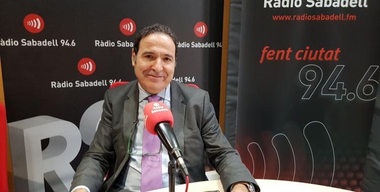 El doctor Diego Palao és el responsable del servei de Salut Mental del Taulí/ Raquel Garcia