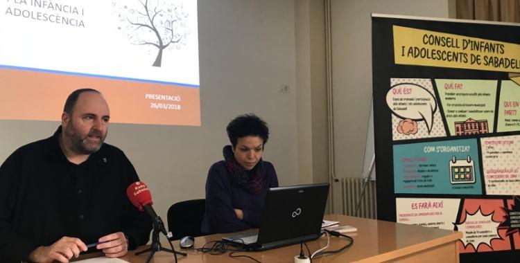 El regidor de Cicles de Vida, Miquel Soler, ha presentat la diagnosi que donarà pas a l'elaboració del Pla d'Infància i Adolescència.
