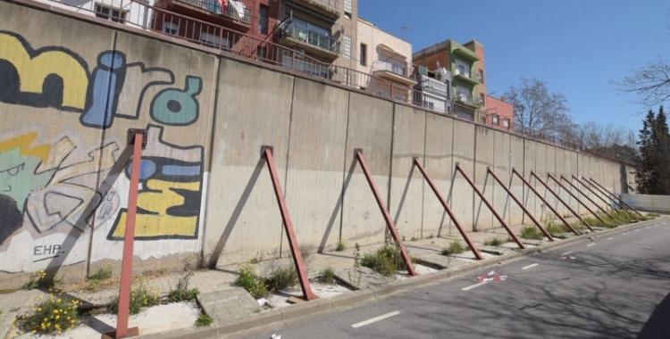Mur del carrer de l'Onyar   Roger Benet