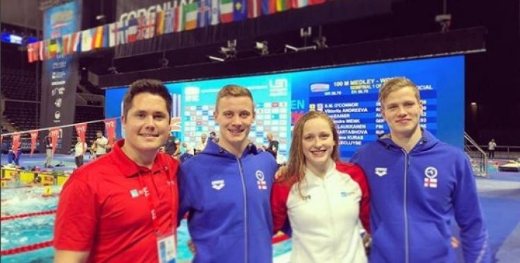 Olaf Wildeboer, a l'esquerra, en el seu nou paper d'entrenador | Olaf Wildeboer (Instagram)