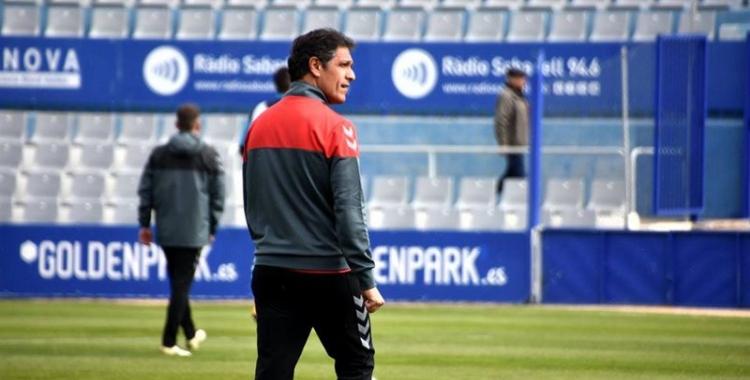 Toni Seligrat se centra en guanyar diumenge al camp de l'Ontinyent | Crispulo D.