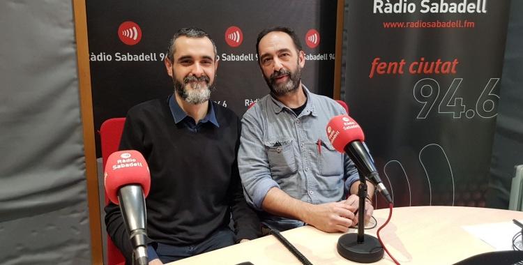 Ferran Burguillos i Carles Alcoy destaquen l'èxit dels clubs de lectura/ Raquel Garcia