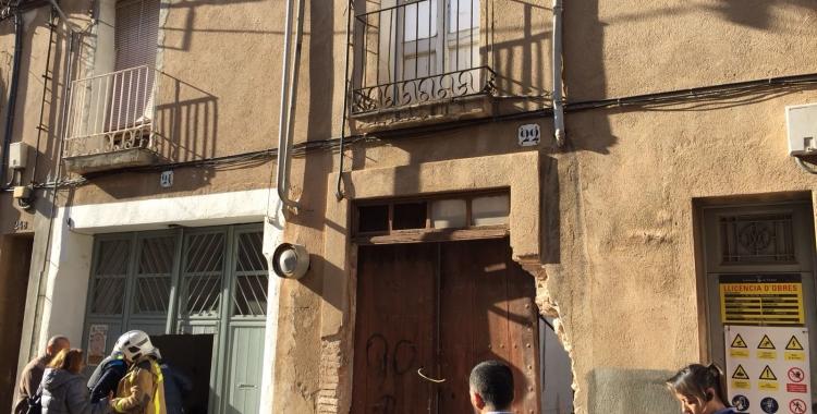 Números 24 i 22 del carrer Doctor Creuheras | Ràdio Sabadell