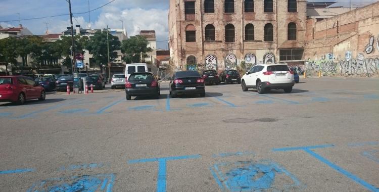 L'aparcament del Vapor Turull és una de les opcions del Centre/ Cedida