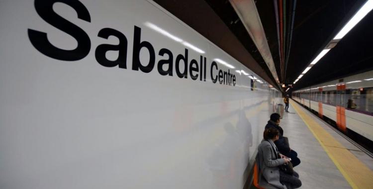 Imatge de les andanes de la nova estació Sabadell Centre | Roger Benet