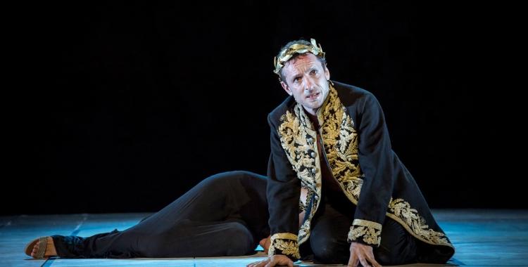 "Pablo Derqui a ""Calígula""   Teatre Romea"