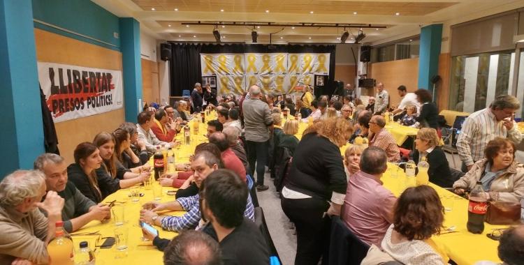 Sopar groc pels presos polítics | Pere Gallifa
