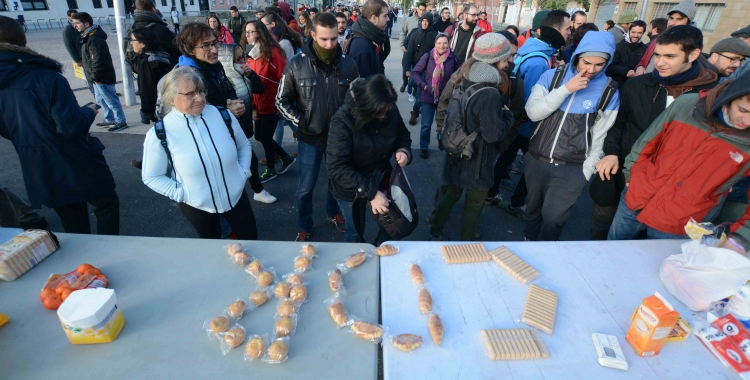 Una protesta del CDR de Sabadell el 8 de novembre | Roger Benet