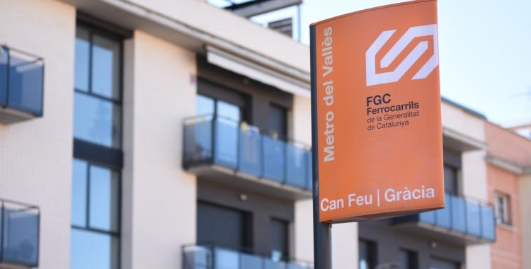 Exterior de Can Feu FGC | Gràcia | Roger Benet