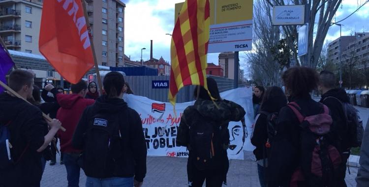 Mobilització d'Arran a plaça d'Antoni Llonch   Ràdio Sabadell