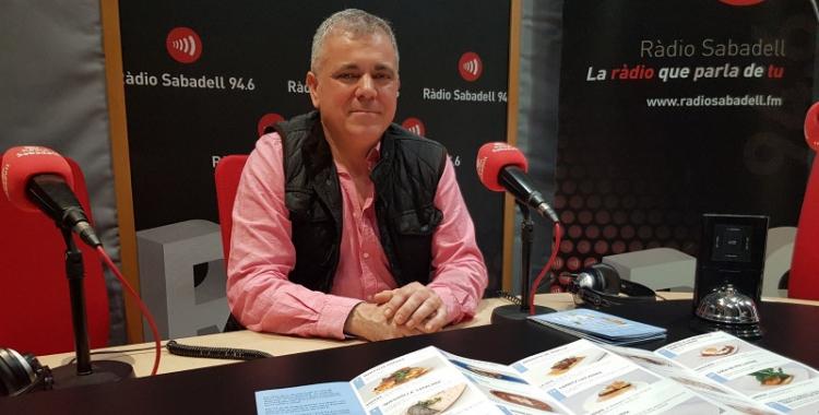 Jordi Roca ha presentat el Destapa't a Ràdio Sabadell/ Raquel Garcia