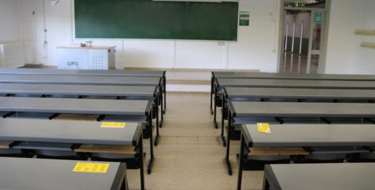 Aula buida al campus de la UAB | ACN