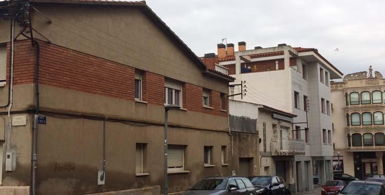 Imatge del fins ara carrer Alfons XIII/ Ajuntament de Sant Quirze