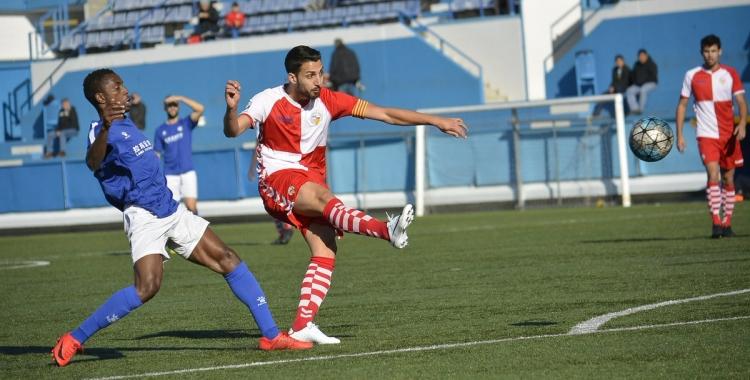 Amb 15 gols, el capità Sergi Estrada és el segon màxim golejador de tota la lliga | Félix Sancho
