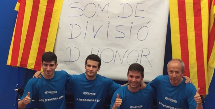 El Natació Sabadell ja és de Divisió d'Honor